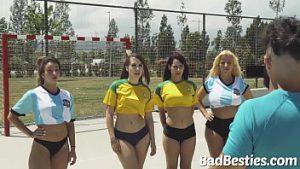 Sexo no campo de futebol