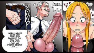 Quadrinhos de putaria com filha novinha dando muito